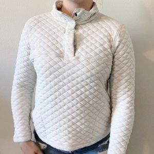 Vintage Quilted Button Up